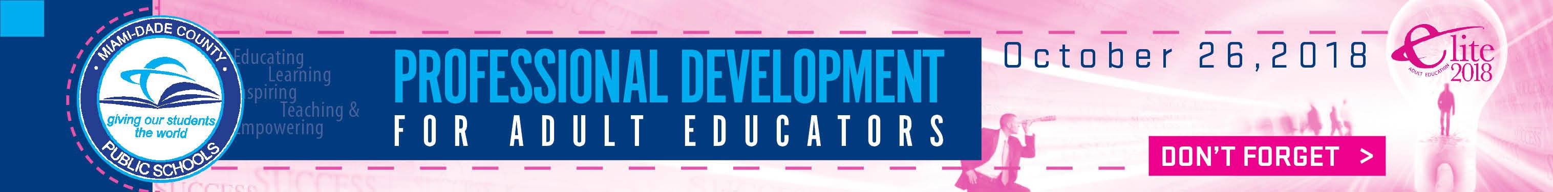 NEW Elite 2018 Retargeting Banners 728x90 - Elite Professional Development for Adult Educators